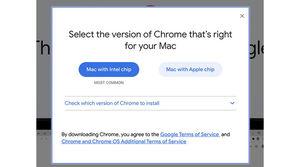Google Chrome for M1 Macs to