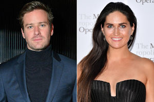 Armie Hammer spotted on date
