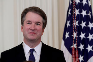 Kavanaugh has least support of