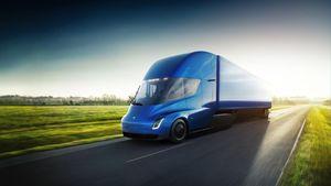 The Tesla Semi acceleration