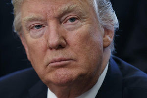 Trump shifts blame for health
