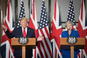 Trump promises 'phenomenal' UK