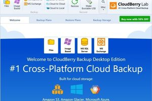 CloudBerry Backup review: Back
