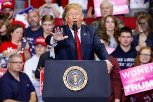 Trump optimistic as polls