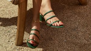 17 Pairs of Leather Sandals to