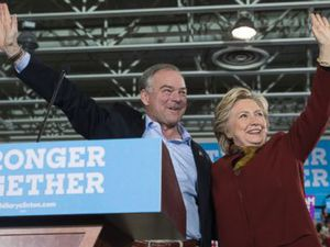 Clinton and Kaine Pledge Unity
