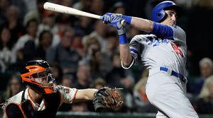 Watch: Cody Bellinger Breaks