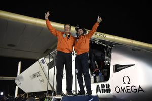 Solar Impulse Becomes First