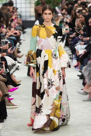 Valentino is a Floral Feast