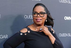 Fan freaks when she sees Oprah