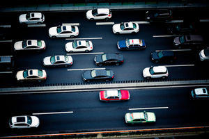 Highway ban squeezes lanes for