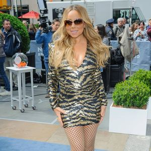 Mariah Carey wears jacket