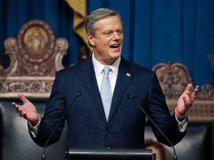 Massachusetts governor's son