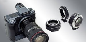 Mount any Canon EF lens to