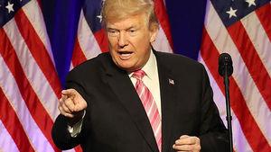 Trump calls media 'stain on