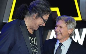'I Loved Him.' Harrison Ford