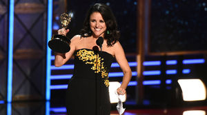 Julia Louis-Dreyfus Makes Emmy