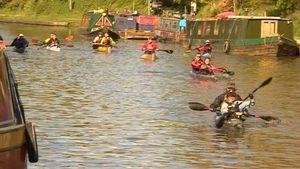 Canoeist dies during annual