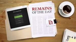 Remains of the Day: Hulu Adds