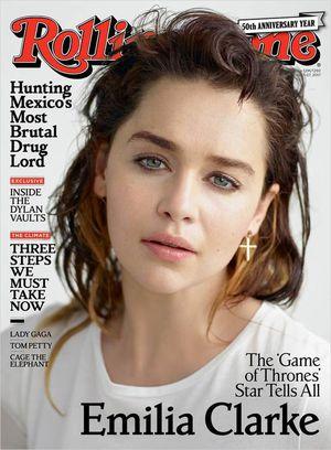 Emilia Clarke Says Being An