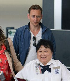 Tom Hiddleston Returns To Los