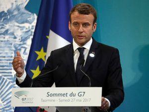 Newcomer Macron makes France's