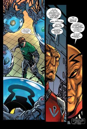 The Green Lantern Ending