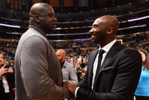 Kobe Bryant and Shaquille