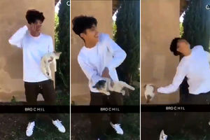 Boy arrested after Snapchat