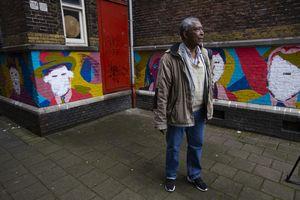 Dutch mural featuring Black