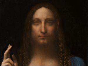 Leonardo Da Vinci's Salvator