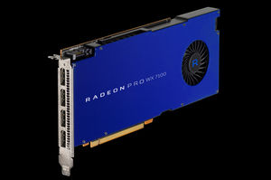 AMD's Radeon Pro WX GPUs can
