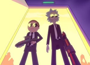 'Rick and Morty' Fight Aliens