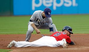Indians scratch out 2 late