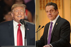 Trump says Cuomo is having a