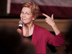 Elizabeth Warren talks Trump