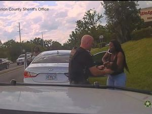 WATCH: Police officer saves
