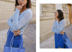 Paris Fashion Week - A Blue