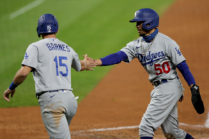 Dodgers rout Rockies to clinch