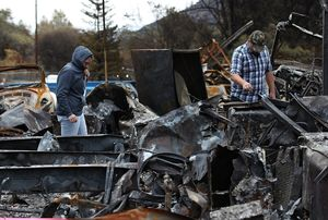 Camp Fire Death Toll Lowered