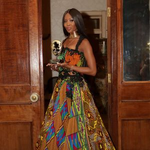 Naomi Campbell Wears Designs