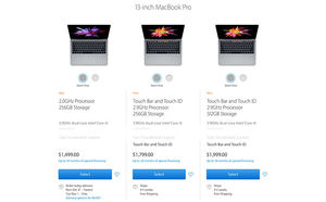 Ship times for new MacBook Pro