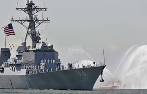 Iranian Vessels Intercept U.S.