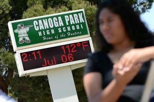 Heat in Los Angeles breaks