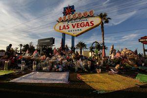 Coroner: Las Vegas gunman shot