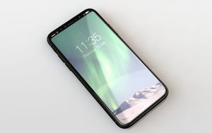 iPhone 8 will handle bezels,