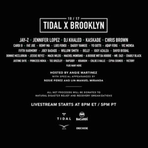 Stream TIDAL X: Brooklyn
