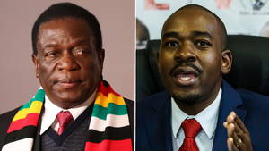 Zimbabwe election: Voters set