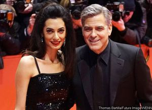 George and Amal Clooney Are