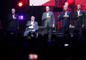 All 5 living ex-presidents